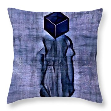 Unacknowledged Throw Pillow