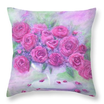 Unarranged Throw Pillow