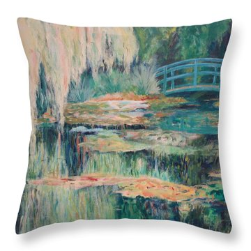 Unassuming Grace Throw Pillow by Tara Moorman