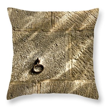 Throw Pillow featuring the photograph Unattached by Tom Vaughan
