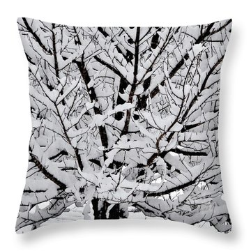 Unbelievable Tree Throw Pillow