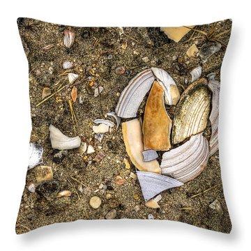 Unbreak My Heart Throw Pillow by Evelina Kremsdorf