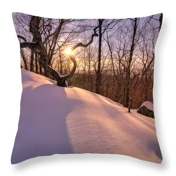 Unbroken Trail Throw Pillow by Craig Szymanski