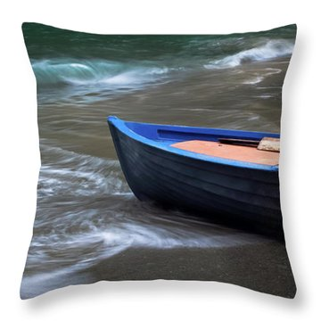 Uncertain Future Throw Pillow