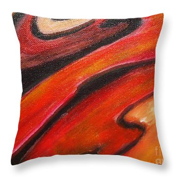 Uncertainity Throw Pillow