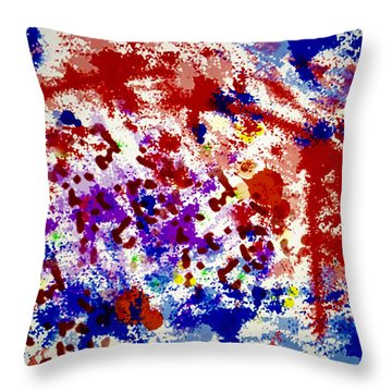 Uncertainty Throw Pillow by Raul Diaz