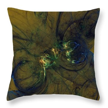 Uncertainty Suppression Throw Pillow