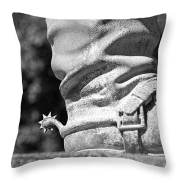 Uncle John's Spurs Throw Pillow