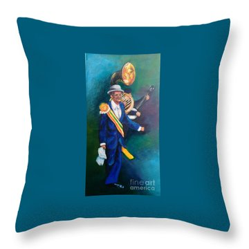 Uncle Lionel Throw Pillow