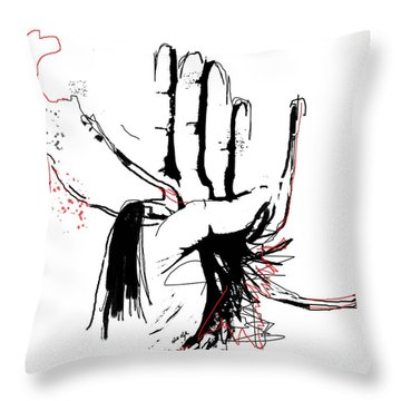 Unconditional Love Throw Pillow by Sladjana Lazarevic