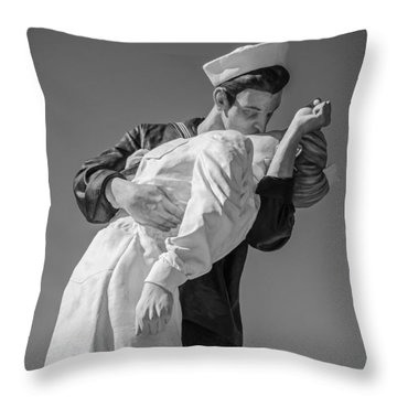 Unconditional Surrender 3 Throw Pillow by Susan  McMenamin
