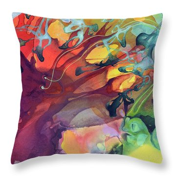 Uncontrolled Throw Pillow