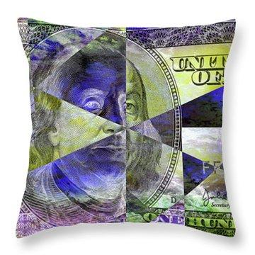 Undecided Ben Throw Pillow
