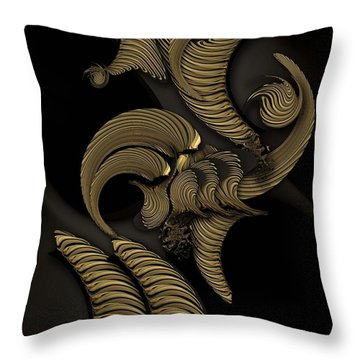 Undefined Compilation - Vegetable Throw Pillow