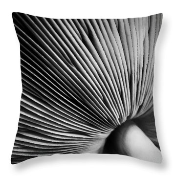 Under A Mushroom Throw Pillow