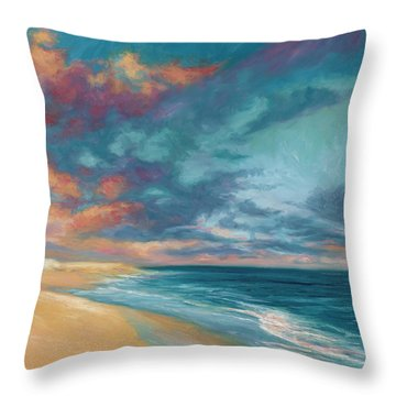 Under A Painted Sky Throw Pillow