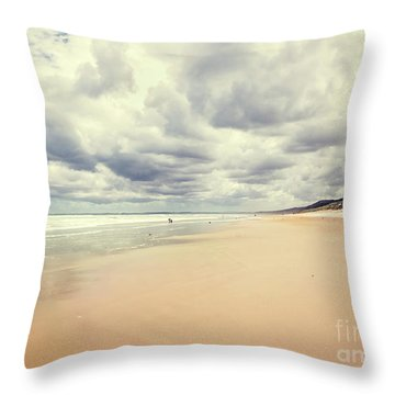 Throw Pillow featuring the photograph Under A Southern Sky by Linda Lees