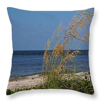Throw Pillow featuring the photograph Under A Summer Sky by Michiale Schneider