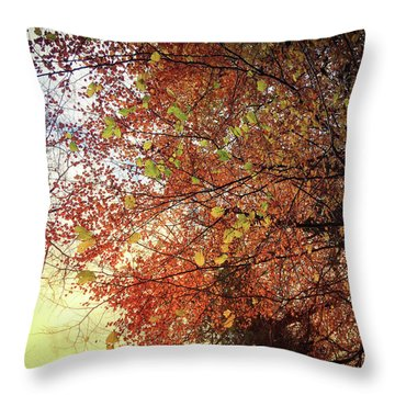 Under An Autumn Sky - No.2 Throw Pillow