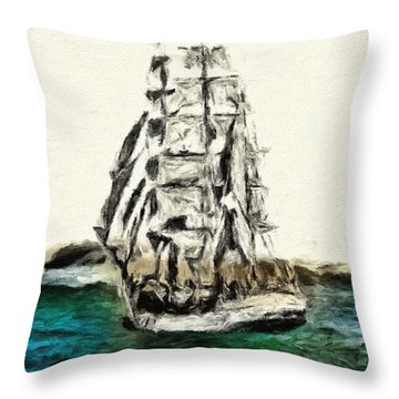 Under Full Canvas Throw Pillow