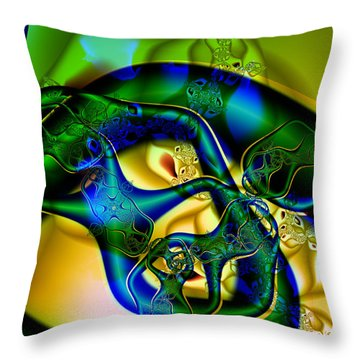 Under My Skin Throw Pillow