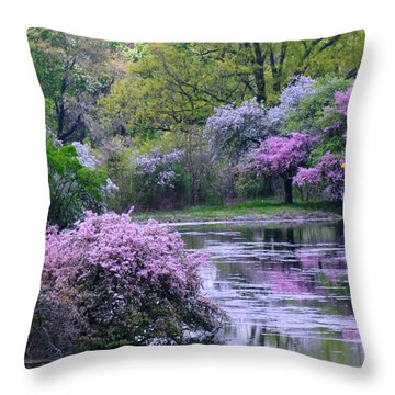 Under Spring's Spell Throw Pillow