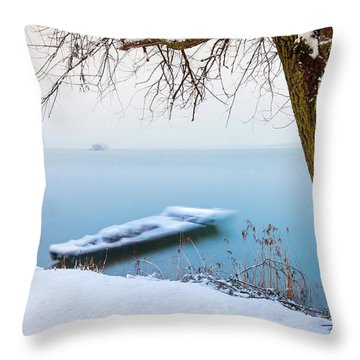 Under The Branch Throw Pillow