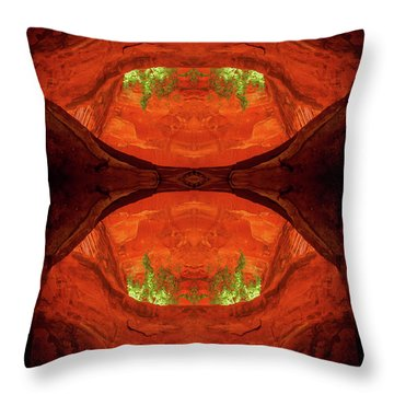 Under The Bridge Throw Pillow by Scott McAllister