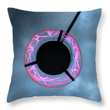 Under The Glow Throw Pillow