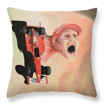 Under The Nose Throw Pillow