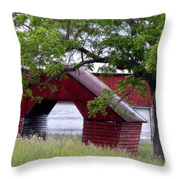 Under The Oak Throw Pillow