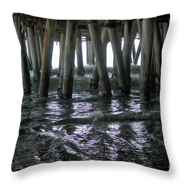 Under The Pier 4 Throw Pillow