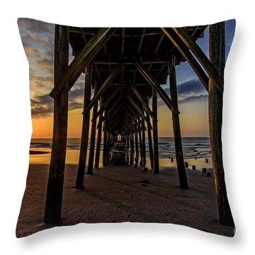 Under The Pier1 Throw Pillow