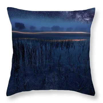 Under The Shadows Throw Pillow