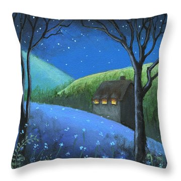 Under The Stars Throw Pillow by Terry Webb Harshman
