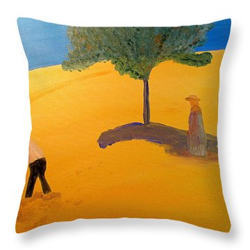 Under The Tuscan Sun Throw Pillow