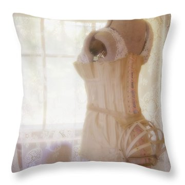 Undergarments Throw Pillow