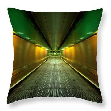 Underground Heathrow Throw Pillow
