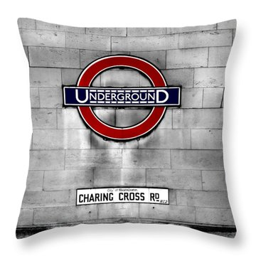Underground Throw Pillow