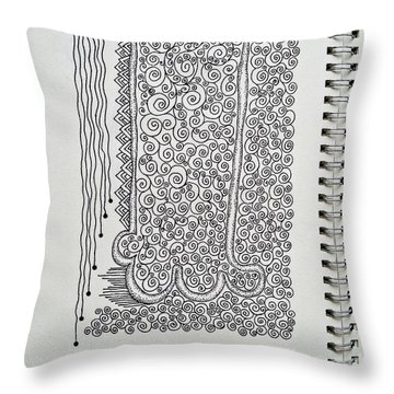 Sound Of Underground Throw Pillow