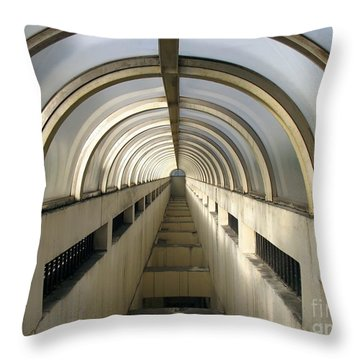 Underground Vault Throw Pillow by Yali Shi