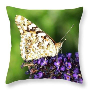Underside - Painted Landy Throw Pillow