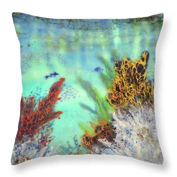 Underwater #2 Throw Pillow