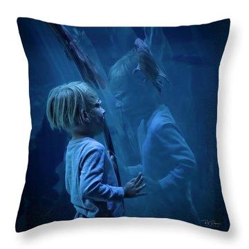 Underwater Dreams Throw Pillow