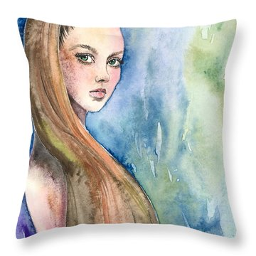 Underwater Heaven Throw Pillow