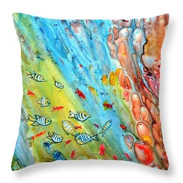 Underwater Magic Series 4 Throw Pillow