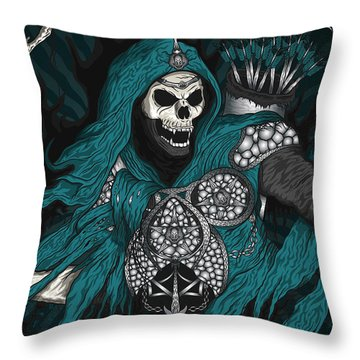 Underworld Archer Of Death Throw Pillow