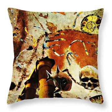 Underworld Throw Pillow by Sarah Loft