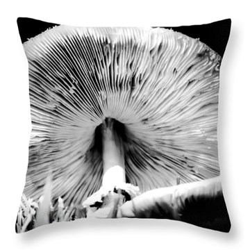 Underworld Secrets Throw Pillow
