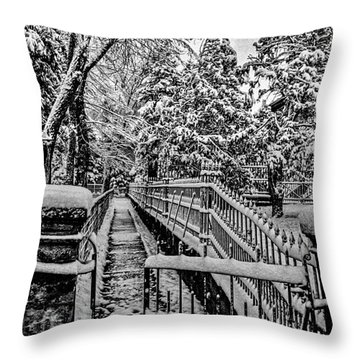 Undisturbed Throw Pillow